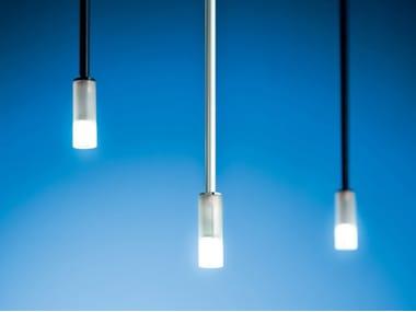 LED direct light crystal pendant lamp MEZZAMANICA | Pendant lamp