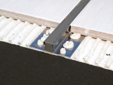 Stainless steel Flooring joint MHS
