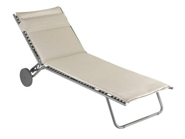 Folding garden daybed with Casters MIAMI
