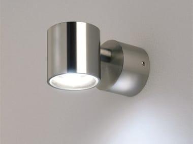 LED wall-mounted round spotlight MICRO 1