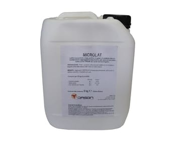 Condensed acrilic latex for mortars MICROLAT