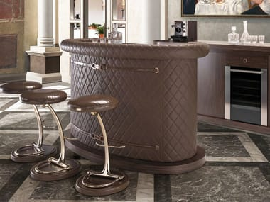 Ordinaire Leather Bar Counter MIHAELA | Bar Counter