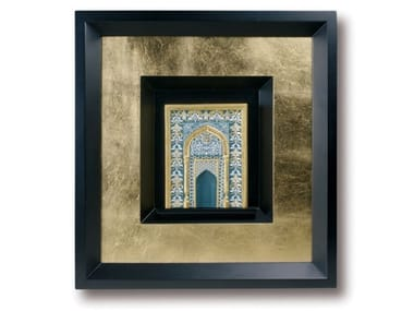 Porcelain Painting MIHRAB - GREEN