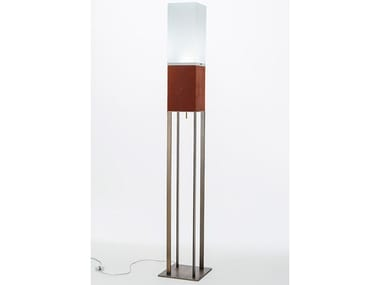 LED leather floor lamp LITTA | Floor lamp