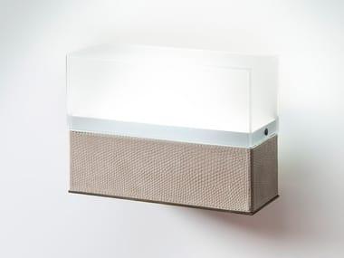Applique a LED in pelle LITTA | Applique