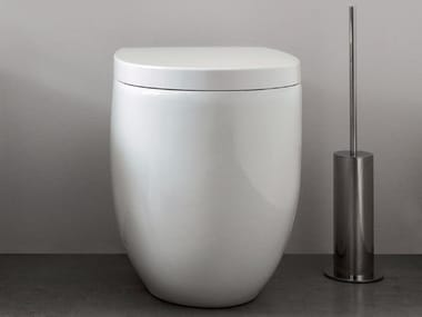 Floor mounted ceramic toilet MILK | Floor mounted toilet
