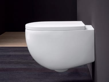 Wall-hung ceramic toilet MILK | Wall-hung toilet