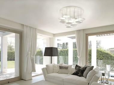 Lampada da soffitto a LED in alluminio MILLELUMEN CIRCLES | Lampada da soffitto a LED