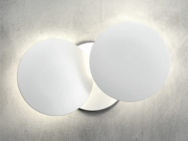 Applique a LED in alluminio MILLELUMEN CIRCLES | Applique a LED