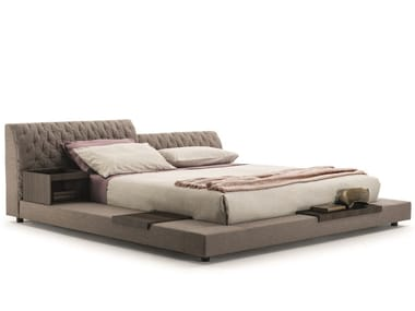 Double bed with tufted headboard MILLER | Bed
