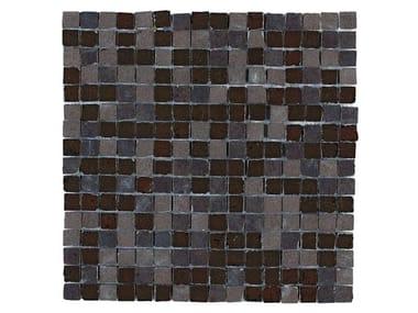 Rivestimento in gres porcellanato effetto metallo MINERAL | Mosaico Bronze M0MD