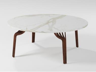 Mesa de centro de café de mármore MING | Mesa de centro de mármore