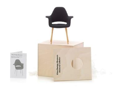 Fabric miniature MINIATURES ORGANIC ARMCHAIR