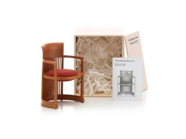 Miniatura in legno MINIATURES BARREL CHAIR
