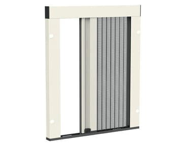 Pleated insect screen with guide system MINIMA UP | Insect screen with guide system