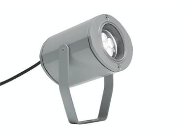 Proiettore per esterno a LED orientabile in alluminio MINIMOK F.3760