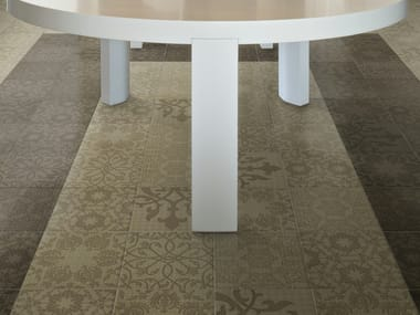 Glazed stoneware wall/floor tiles MINOO
