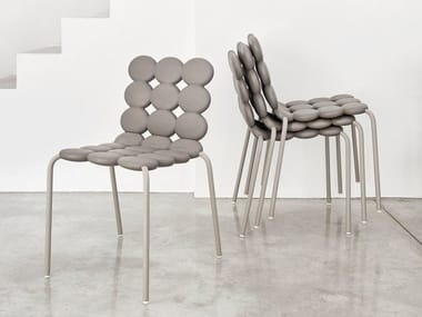 Stackable polyurethane chair MINTS