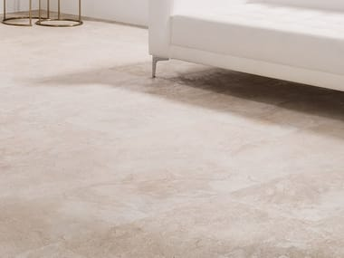 Wall/floor tiles with stone effect MIRAGE CREAM