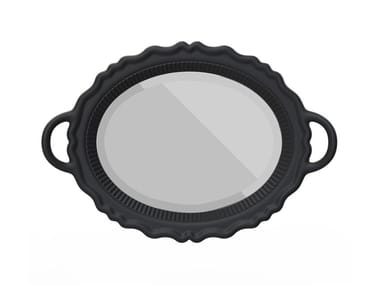 Espelho oval moldurado MIROIR