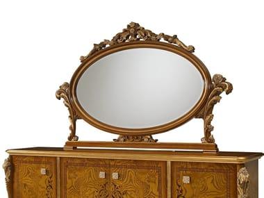 Countertop oval framed mirror DOLCEVITA | Mirror