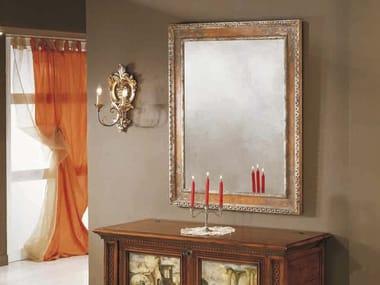 Wall-mounted framed mirror ATENE | Mirror