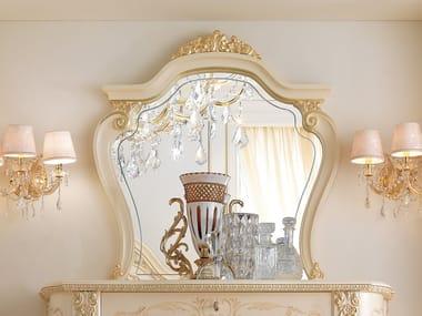 Framed wall-mounted mirror DAVID | Mirror