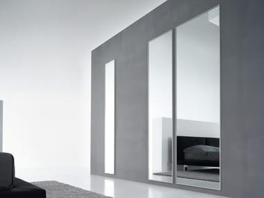 Wall-mounted mirrored glass mirror Mirror