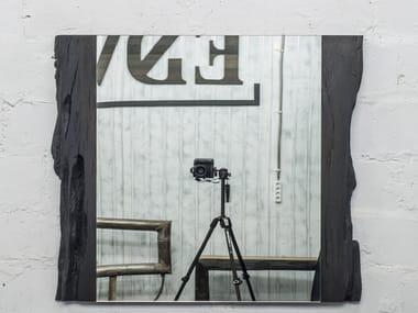 Rectangular wall-mounted framed mirror LEO | Mirror