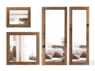 Wall-mounted framed mirror MIRRORS | Mirror