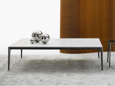 Rectangular marble coffee table MIRTO INDOOR | Marble coffee table