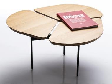 Low oak coffee table MISS TRÈFLE©