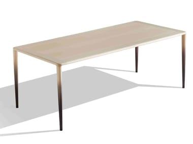 Tavolo rettangolare in faggio MISS WOOD | Tavolo