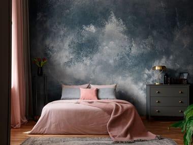 Landscape nonwoven wallpaper strip MISTRAL