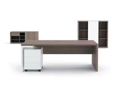 Rectangular executive desk with drawers MITO | Rectangular office desk