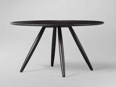 Round wooden dining table MO | Table