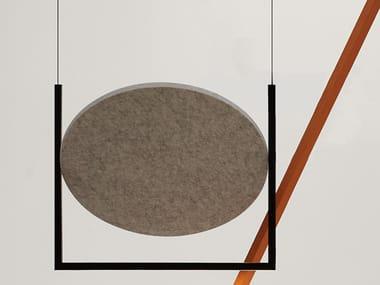 LED acoustic pendant lamp MOBILE 600 | Acoustic pendant lamp