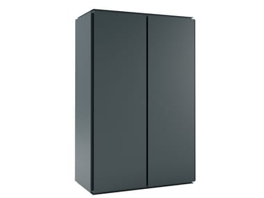 Aluminium highboard with doors MOBILE ZERO 135x90 - M08