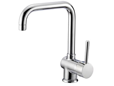 Brass kitchen mixer tap with swivel spout MODERN B