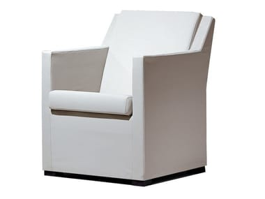 Guest chair with armrests MODERN | Easy chair