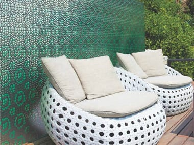 Indoor/outdoor polyurethane mosaic MODERN PEBBLE