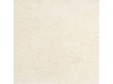 Pavimento/rivestimento in gres porcellanato effetto pietra MODICA BIANCO