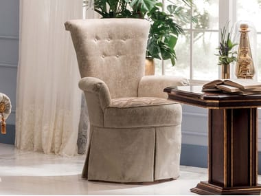 Fabric easy chair with armrests MODIGLIANI   Easy chair
