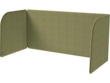 Painel divisor de tecido de mesa MODO DESK
