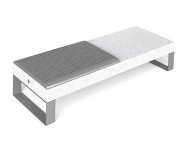 Panchina modulare in HPC senza schienale DIAMANTE ACCESSORIES I   Panchina