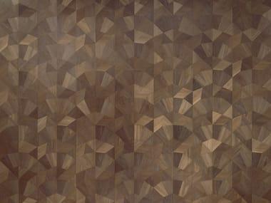 Pavimento geometrico in rovere MODULO DESIGN FRAMMENTI