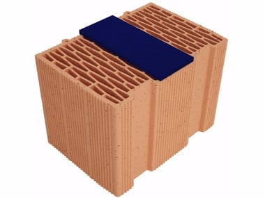 Thermal insulating clay block Modulo FV Plus MVI350