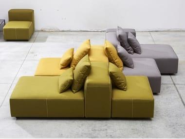 Fabric sofa with removable cover MODULOR   Sofa