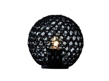 Lampe de table d'extérieur LED en polyéthylène MONSIEUR LEBONNET | Lampe de table d'extérieur