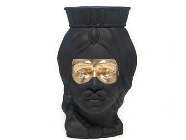 Terracotta vase MONSIEUR NOX